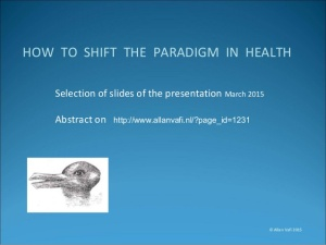 how to shift the paradigm in health